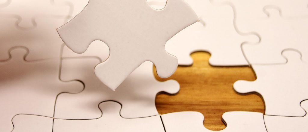 パズルのピースの画像