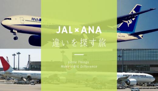 【CA受験】JALとANAの違い 質問で使えるネタ13選
