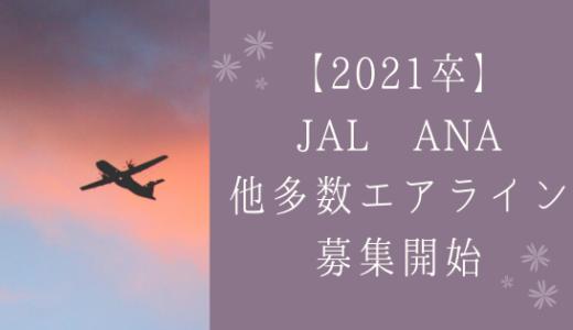 2021年新卒!JAL ANA含む多数エアラインが一斉就活解禁!!